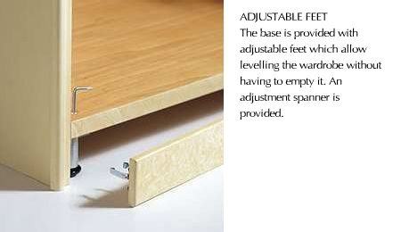 ADJUSTABLE FEET